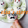 squishies wholesale 20pcs rare squishy lot kawaii squishy mixed expression bun bread kid toys phone straps Free charms Shipping