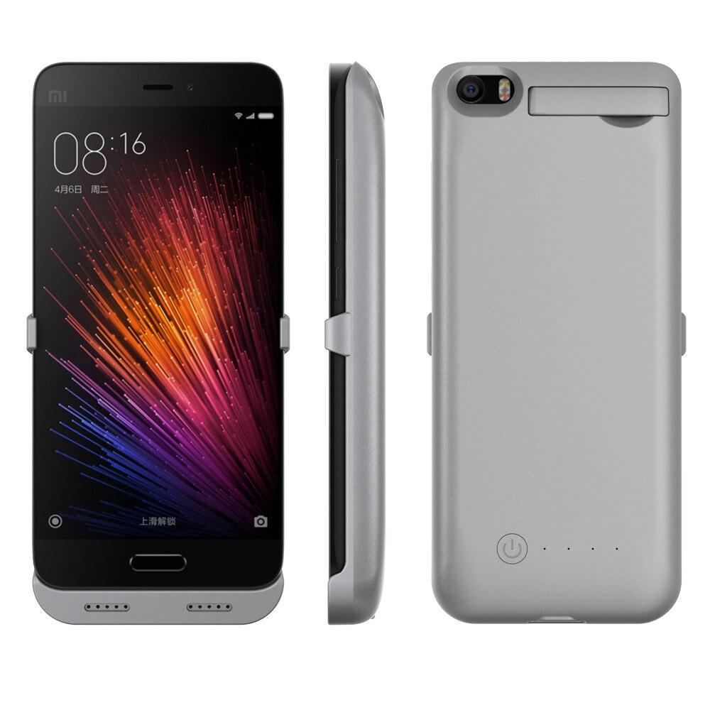 imágenes para NEWDERY 4200 mAh banco Portable Del Cargador de Batería de Copia de seguridad Proteja Cubierta de la Caja Del Teléfono Para Xiaomi Mi5