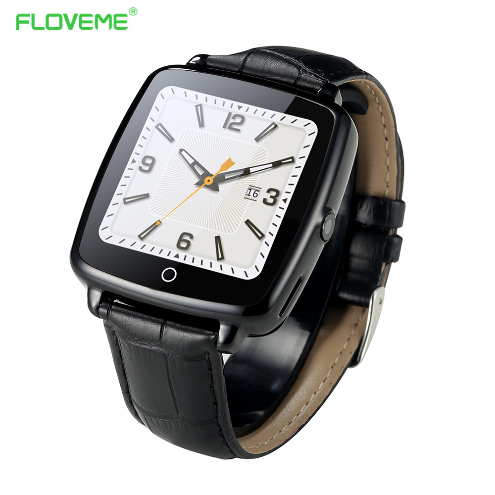 FLOVEME Bluetooth Connected Smart Watch Pedometer Phone Sync MP3 font b Smartwatch b font For iPhone