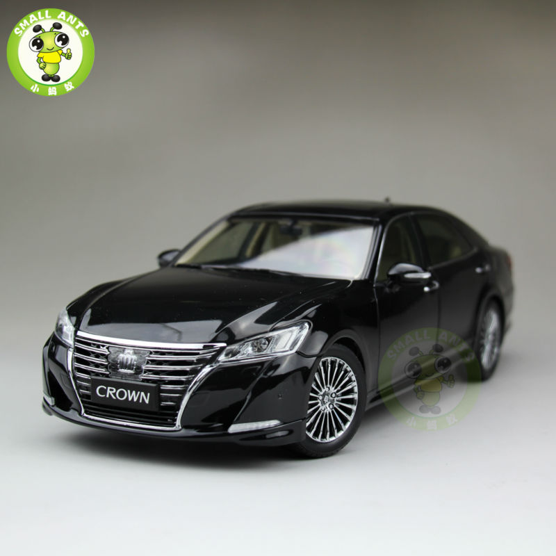 все цены на 1:18 Toyota Crown Diecast Model Car for collection gifts hobby Black