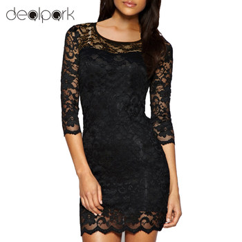 New Bodycon Peplum Flower Lace Dress Floral Vestidos Slash o-neck Sexy Short Evening Women Dress Clothing Plus Size Black White