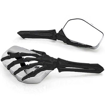 Brand new Skeleton Skull Hand Motorcycle Mirrors For Suzuki Intruder Volusia VS 700 750 800 1400 1500
