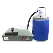 Замороженные жк Сепаратор машина FS-06 2 в 1 упак. встроенный безмасляный насос с 10L бак жидкого азота включают налог на европа