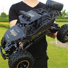 Xingyuchuanqi RC автомобиль 4WD 2,4 ГГц восхождение автомобиль 4×4 двойные двигатели Bigfoot автомобиль дистанционного Управление модель с открытыми внедорожник игрушка
