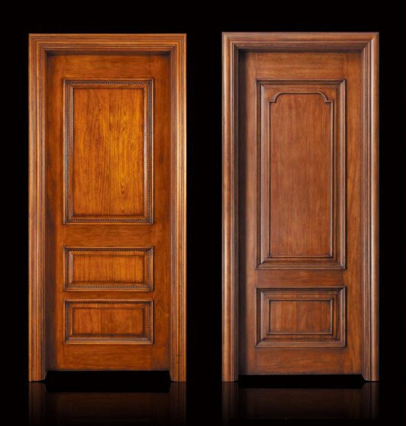 Buy interior 2015 wood panel door design for Door design latest 2015