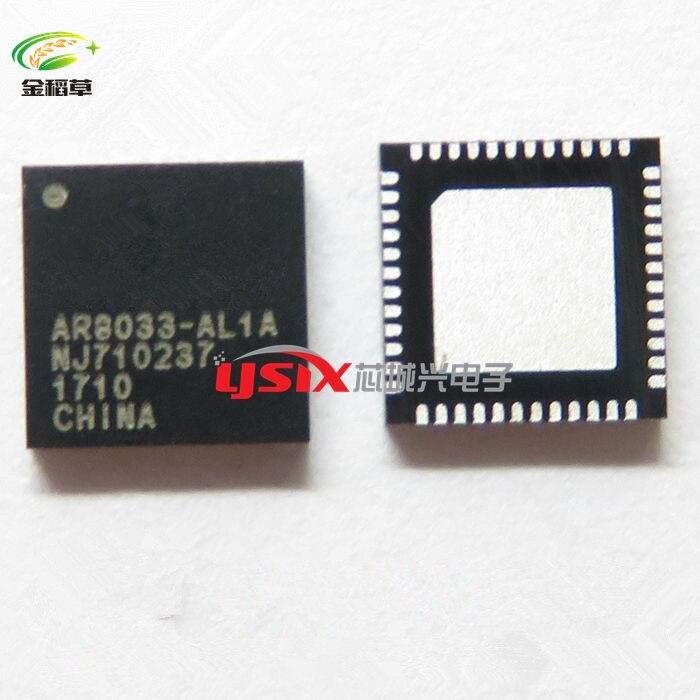 AR8033 AL1A AR8033 QFN nouveau en STOCK IC 50 pcs/lot livraison gratuite-in Écran Protecteurs from Electronique    1