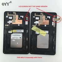 N070ICN GB1 And LD070WX4 SM01 LCD Display Touch Screen Digitizer Glass Assembly For Asus MemoPad HD7