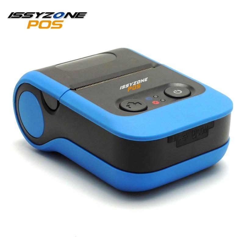 ISSYZONEPOS IMP020 2 дюймов Портативный Термальность принтер 58 мм Термальность чековый принтер с Батарея Pos Системы