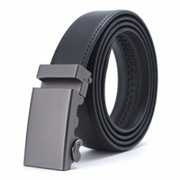 Fashion Designers Mens Belts Automatic Buckle 100 Genuine Cow Leather Luxury Belts Business Male Belts For