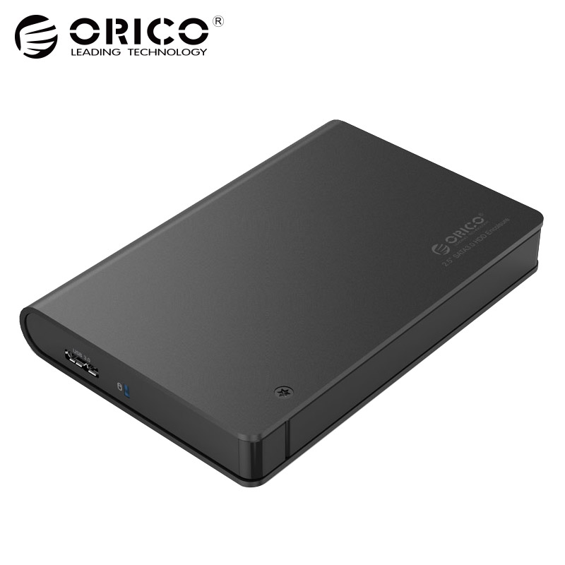 ORICO 2.5 SATA3.0 To USB3.0 HDD Enclosure Aluminum Case Hard Disk Box Tool Free Hard Drive Enclosure Support UASP For HDD SSD все цены