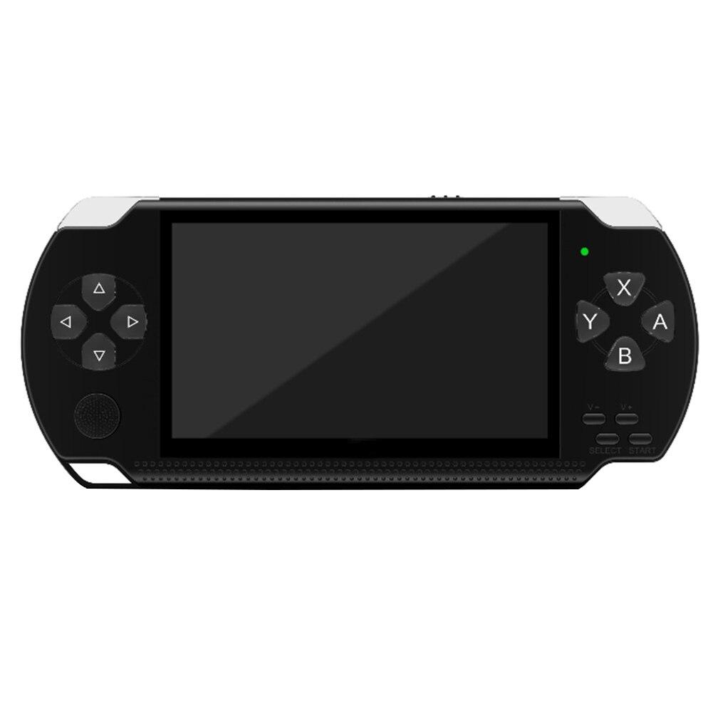 """4,"""" Игровая консоль 8G простая в эксплуатации Многофункциональный портативный плеер ретро портативный подарок развлечения карманный размер HD перезаряжаемый - Цвет: X6"""