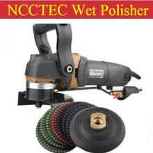 Комбо высокого качества 5 ''влажный полировщик камня+ евро вилка+ набор 5'' полировальных колес+ 5 ''палка колодки | 125 мм Угловая шлифовальная машина