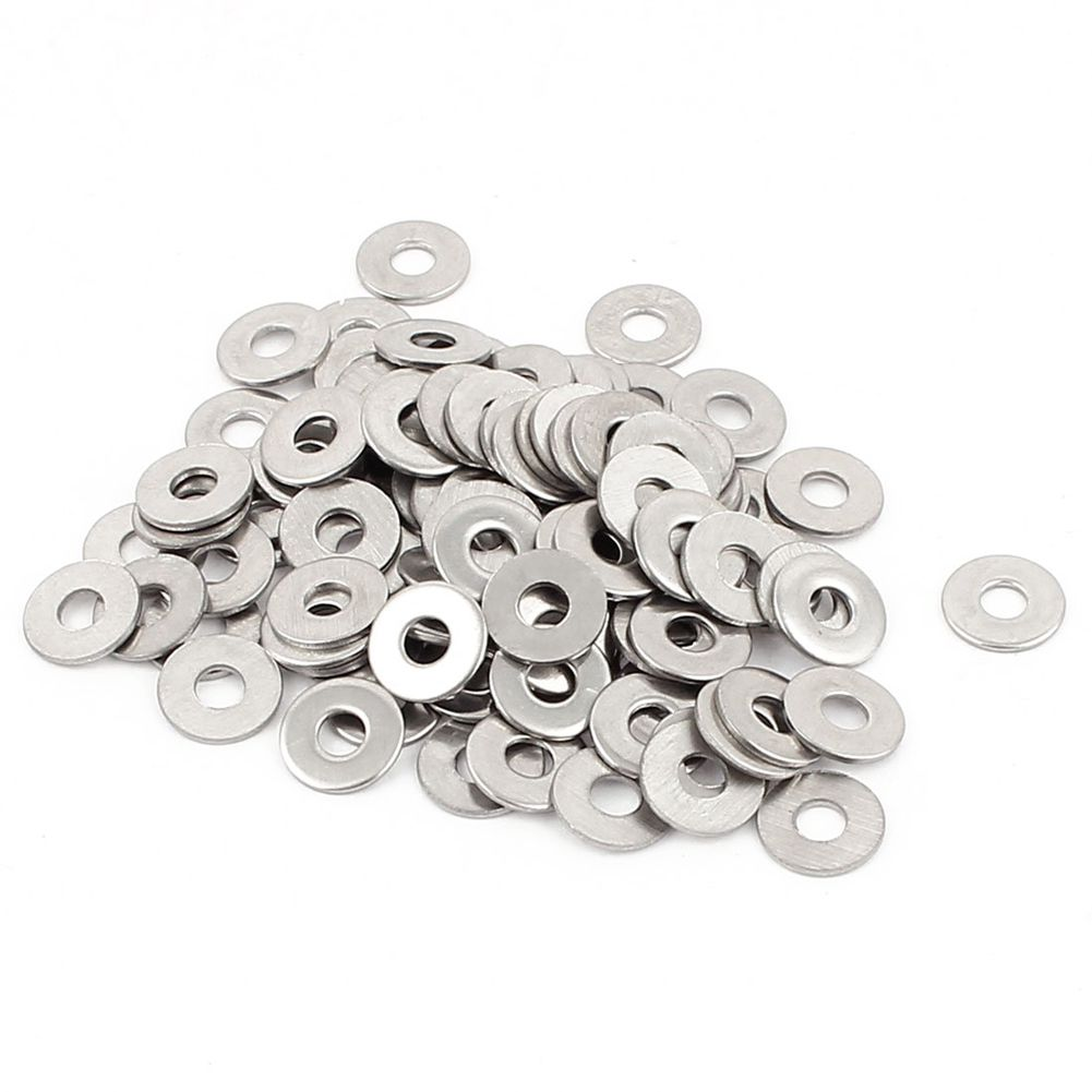 3mm Flat Stainless Steel Washers To Suit M3 Threaded Screws /& Bolts Pick a Pack