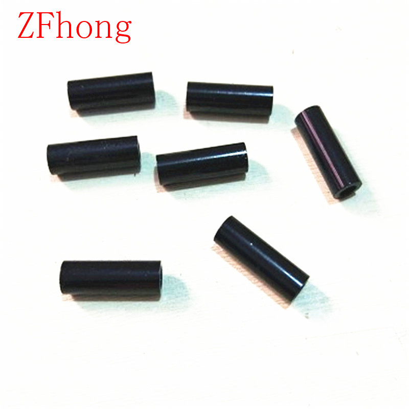 10pcs M3*5/6/8/10/12/15/20/25/30/35/40/45/50 M3 Thread black Aluminum Round Standoff Spacer For RC Parts 100pcs m3 nylon black standoff m3 5 6 8 10 12 15 18 20 25 30 35 40 6 male to female nylon spacer spacing screws