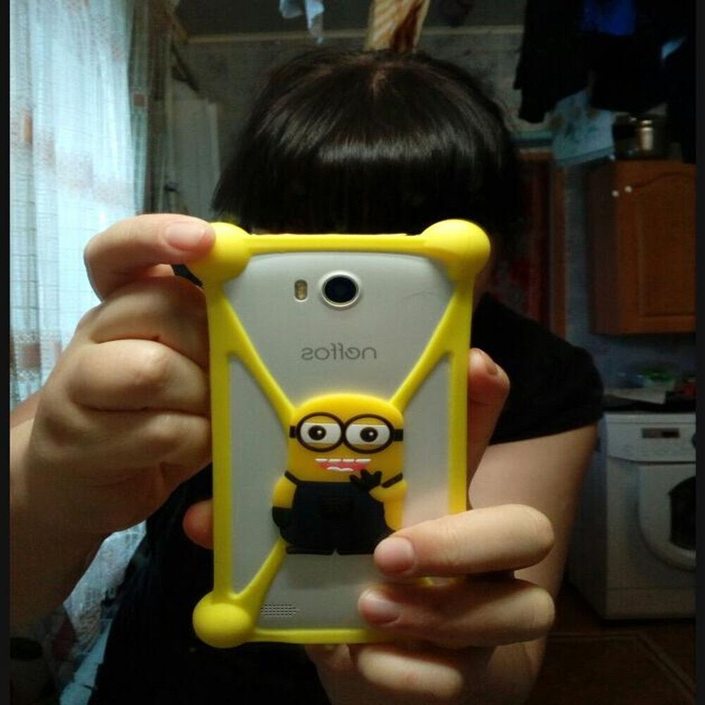 Cute Cartoon Universal Phone Cases For QMobiles