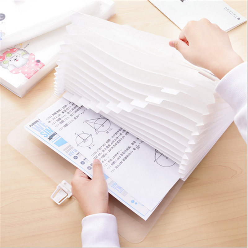 Cartoon A4 13 grilles Document sac fichier dossier expansion portefeuille Bill dossiers pour Documents texte papier stockage fournituresCartoon A4 13 grilles Document sac fichier dossier expansion portefeuille Bill dossiers pour Documents texte papier stockage fournitures