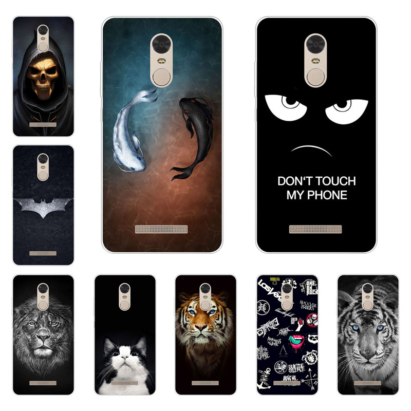 xiaomi redmi note 3 case,Silicon Gossip fish Painting Soft TPU Back Cover for xiaomi redmi note 3 pro protect Phone shell