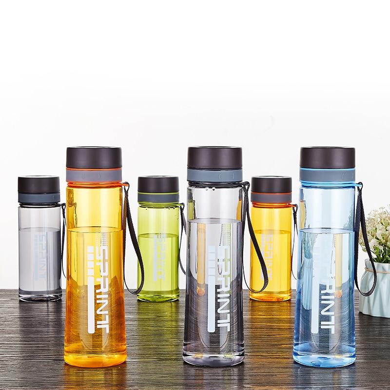 Nouveau 680ml 1000ml sans BPA étanche sport bouteille d'eau de haute qualité Shaker bouteilles En Plastique Gourde En Plastique