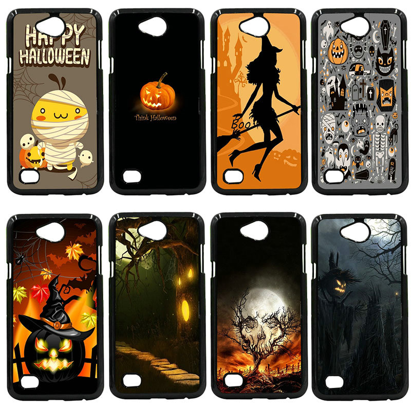 Hard PC Phone Case Cover Happy Halloween Fabric Pumpkins For LG L Prime G2 G4 G5 G6 G7 K4 K8 K10 V20 V30 Nexus 5 6 5X Pixel