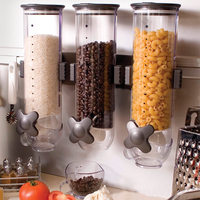 2019 Real New Jar Potes Kitchen Storage Cans Cereal Boxes Household Snacks Melon Seeds Nuts Candy Dispenser Sealed Commercial