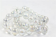 Fashion New! Top Quality 2016 Sale Round Natural clear colorful Beads for Jewelry Making 4 6 8 12 MM drop Shipping Wholesale
