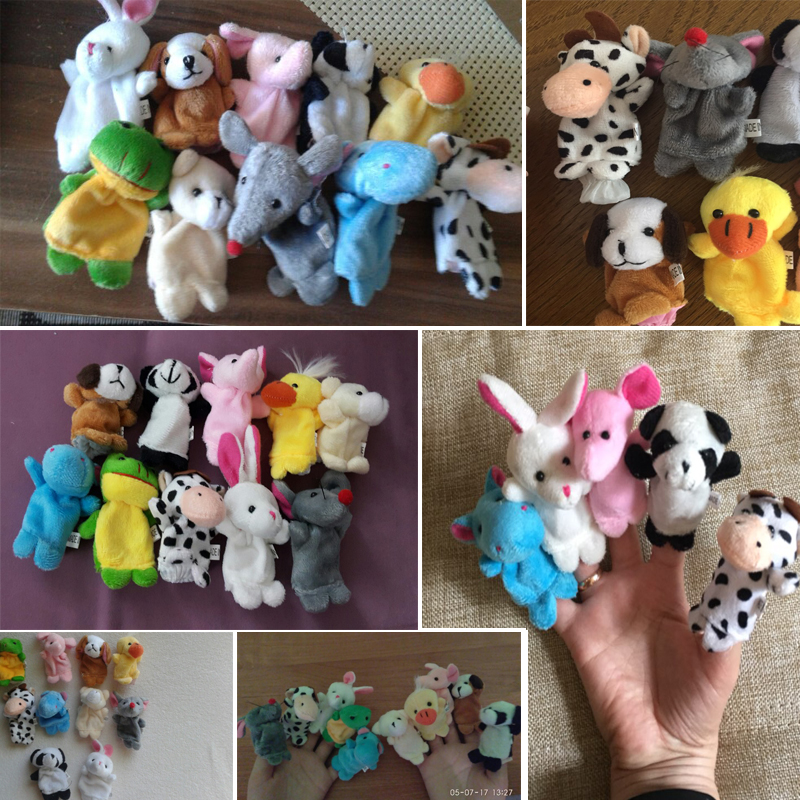 10pcsLot-Cartoon-Animal-Velvet-Finger-Puppet-Finger-Toy-Finger-Doll-Baby-Cloth-Educational-Hand-Toy-Story-5