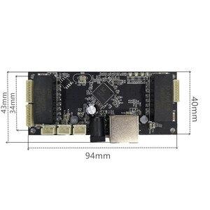 Image 5 - תעשייתי מודול מתג אתרנט 10/100/1000 mbps 4/5/6 יציאת PCBA לוח OEM אוטומטי  חישה יציאות PCBA לוח OEM האם