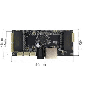 Image 5 - 산업용 이더넷 스위치 모듈 10/100/1000 mbps 4/5/6 포트 pcba 보드 oem 자동 감지 포트 pcba 보드 oem 마더 보드