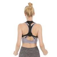 Men Women Adjustable Back Posture Corrector Posture Correction Belt Corrective Spine Support Brace Back Shoulder Support Belt