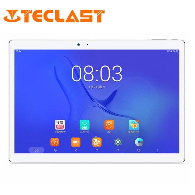 "Teclast T10 Android 7,0 MT8176 Hexa Core 4 Гб ОЗУ 64 Гб ПЗУ 8.0MP + 13,0 PM HDMI датчик отпечатков пальцев 10,1 ""2560*1600 планшетный ПК"
