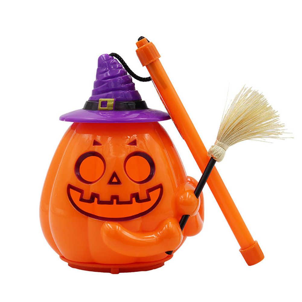 Heißer Halloween Kürbis LED Lampe Jack O Laterne Spaß Handheld Kinder Kinder Licht Spielzeug