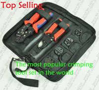 Narzędzie do zaciskania Set/zestaw DN-K02C z cięcia kabli, szczypce do zaciskania i wymienne umrzeć zestawy/szczęki, terminal narzędzia ręczne, karbownice
