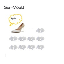9 size High Heel Protector Brand Shoes High Stiletto Heel Protectors Heels Tips Replacement zapatos de mujer tacones 9pairs new 2017 fashion women stiletto high heel shoes sexy lady platform spring fashion heeled pumps heels shoes pink plus big size