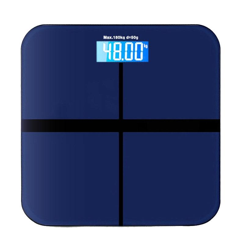 Adeeing Household Weighing Scale, Digital Bathroom Scales Body Weight Loss Measuring Machine With LED Backlight Display