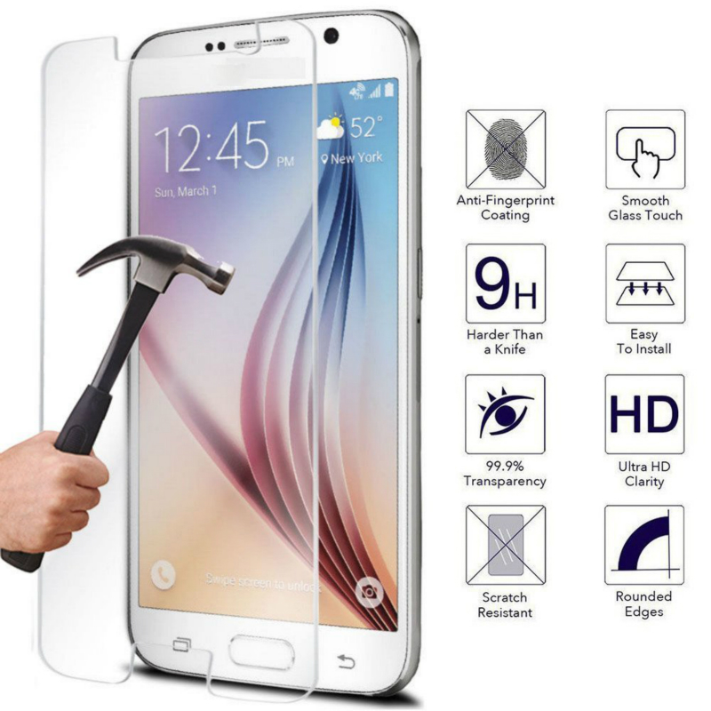 EKDME Protective Film for <font><b>Samsung</b></font> Galaxy J3 J5 J7 Tempered <font><b>Glass</b></font> For Galaxy S4 <font><b>S3</b></font> mini J1 S6 G9200 S5 <font><b>Neo</b></font> 2016 Screen Protector image