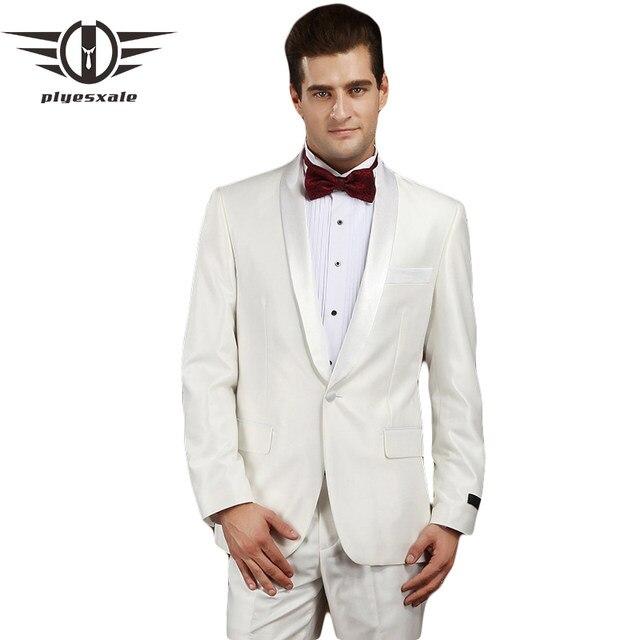 Online Shop Plyesxale Men Suit 2018 Latest Coat Pant Designs Slim ...