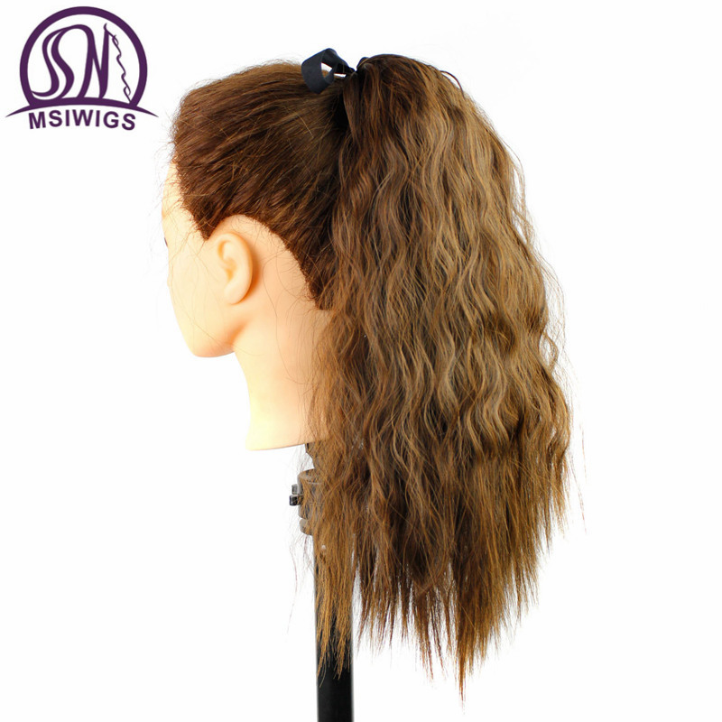 Ponytail Wigs with Bangs