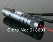 Big sale wholesale 1000mw 532nm Mini 650nm red laser pointers focusable lasers torch burn black matches broke balloon free shipping