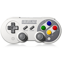 8Bitdo SF30 Pro Gamepad Game Controller for Nintendo Switch Windows mac Android Rumble Vibration Motion Controls USB-C Joystick(China)
