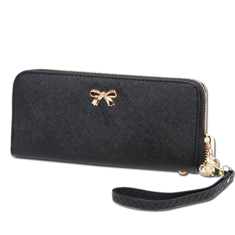 2016 luxury women wallets famous brand Long bow wallet zipper purses PU Leather wallets for women  coin bag hot sale lady purses rfid blocking men wallets double zipper coin bag famous brand pu leather wallet money purses luxury big capacity wallet carteira