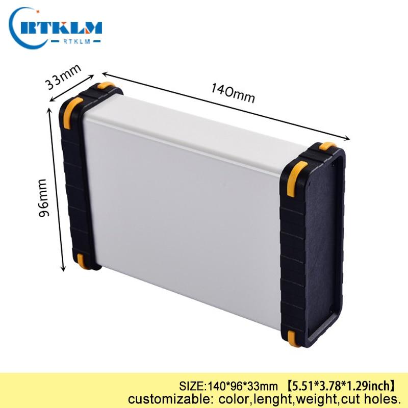 Aluminium Box Housing Case For Electronics DIY Junction Box Aluminum Project Speaker Enclosure Diy Instrument Case 140*96*33mm