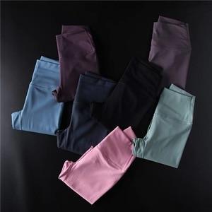 Image 5 - SHINBENE pantalon de Yoga pour femmes, doux, nu, à quatre voies, extensible, pour Gym, à sensation, à poil nu, 2.0