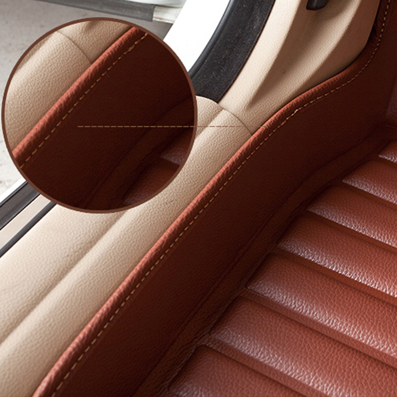Voiture Croire Auto voiture tapis de Pied Pour bmw f10 x5 e70 e53 x4 f11 x3 e83 x1 f48 e90 x6 e71 f34 e70 e30 accessoires étanches - 3