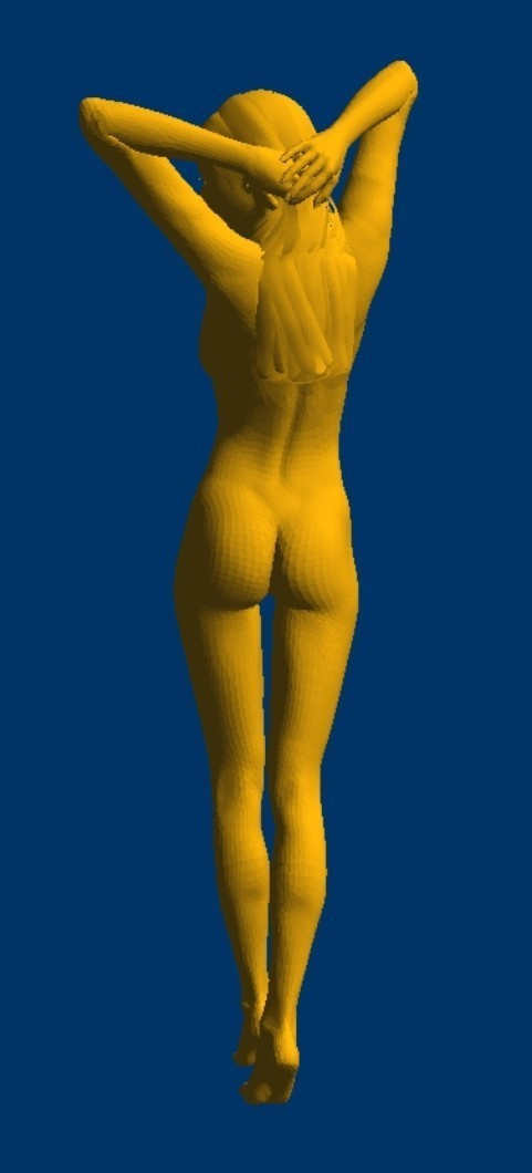 Image 2 - New 3D model for cnc 3D carved figure sculpture machine in STL file format naked woman 1-in Wood Routers from Tools