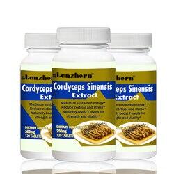 Extracto de seta de extracto de cordyceps Sinensis 250mg120PCS X 3B puede ayudar a la lucha contra el daño corporal de los radares libres.