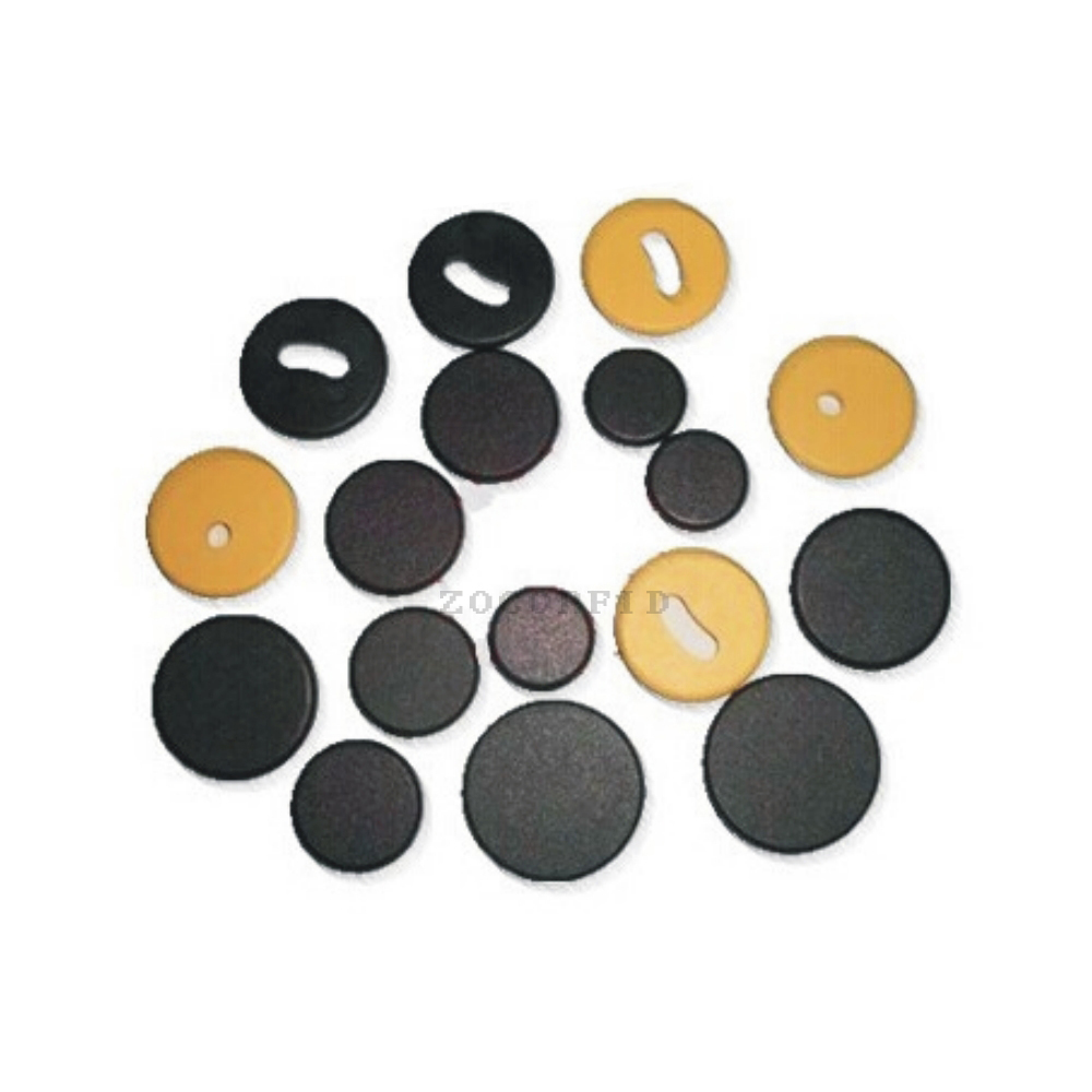 100pcs Diameter 20cm RFID Card Patrol Button \ RFID Round Label \ RFID Asset Management Tags