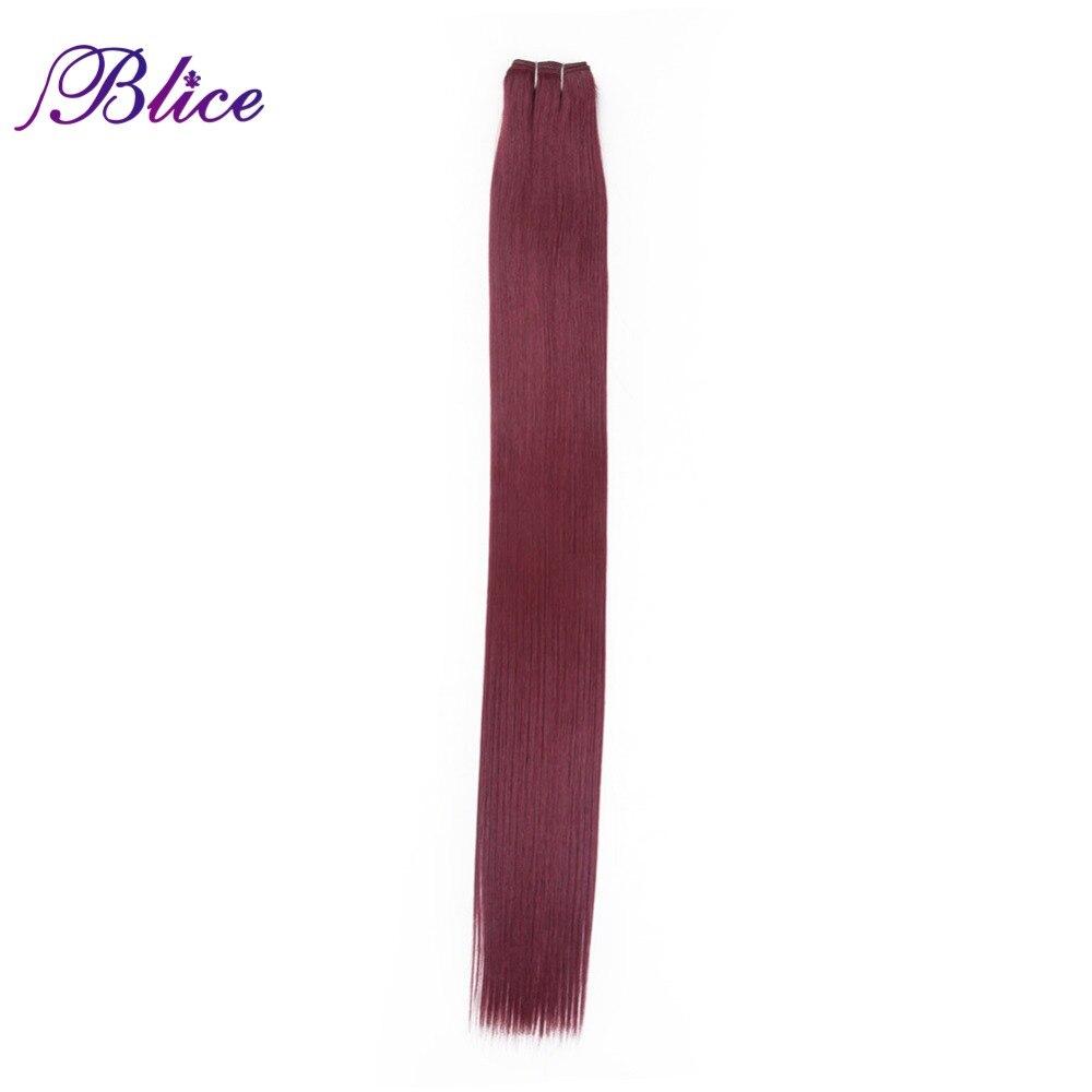 Blice Syntetiska hårförlängningar 5 stycken / Parti 26 tum #BUG - Syntetiskt hår - Foto 2