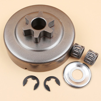 3/8 Chain Drive Clutch Drum Bearing Clip Kit Fit STIHL 017 018 MS170 MS180 MS210 MS230 MS250 021 023 025 Chainsaw Parts switch shaft choke rod kit for stihl ms250 ms230 ms210 025 023 021 ms 250 230 210 chainsaw parts