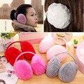 HQ New Women Winter Ear Warmer Solid Color Earmuffs Fashion Cute Winter Accessories Ear Protector Warmer Earmuffs XHH04688