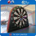 Free shipping!!single side 4m/13ft height  Inflatable Dart Board,Giant Inflatable Soccer Dart Board, inflatable foot darts